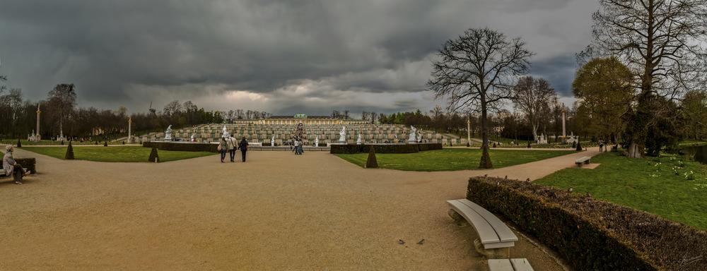 Jardines de Sanssouci (Postdam Berlin Brandenburg Alemania)