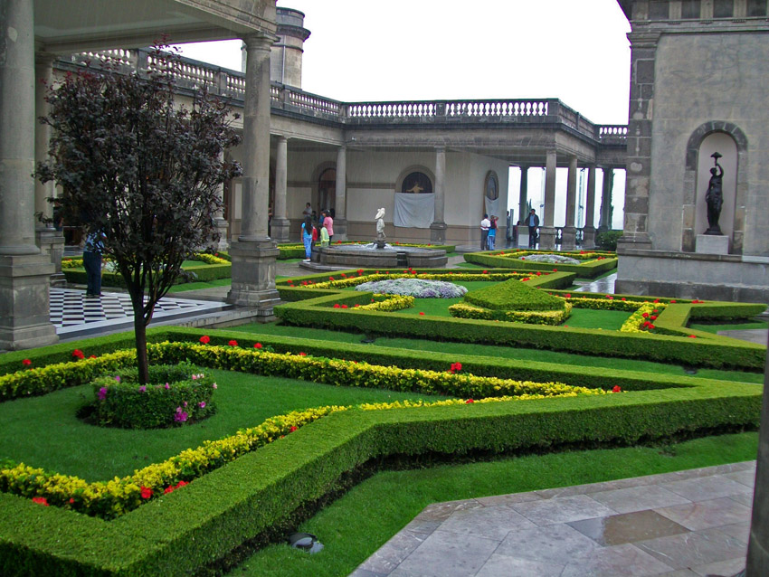 Jardines del castillo chapultepec imagen foto north for Jardines bellos fotos