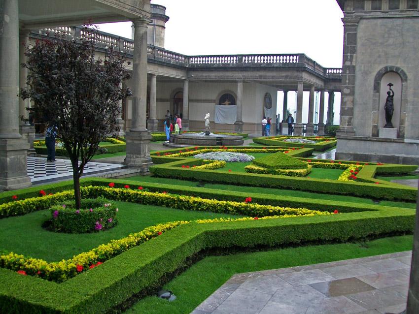 Jardines del castillo chapultepec imagen foto north for Los jardines del califa