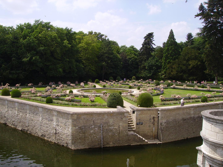 jardins du chateau de chenonceaux
