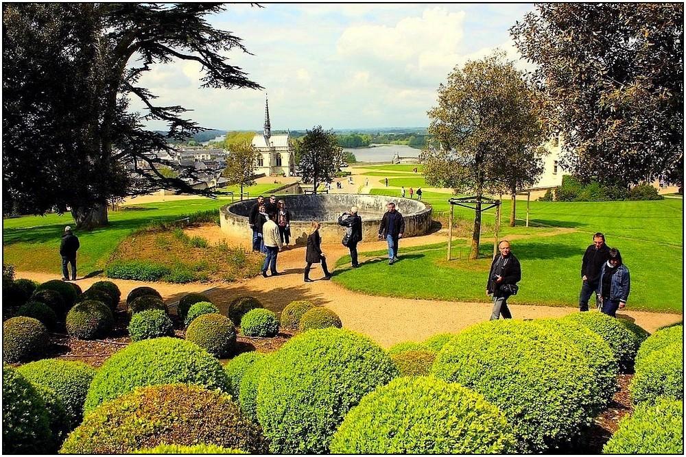 Jardins du ch teau d 39 amboise photo et image europe - Jardin du manoir d eyrignac ...