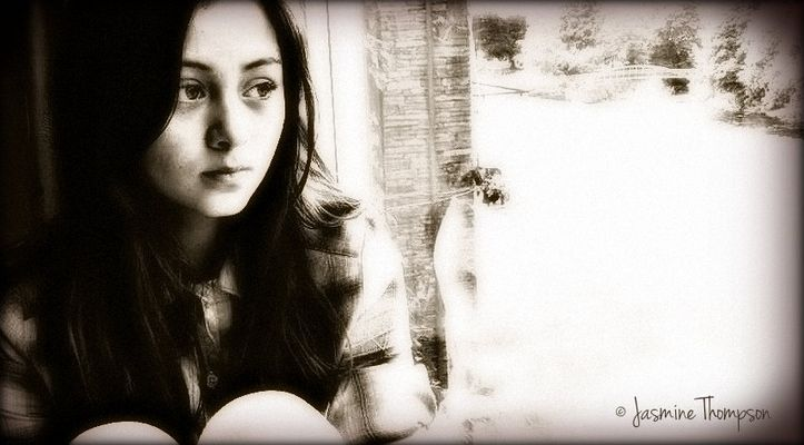 Jasmine Thompson - Foto meiner kleinen Youtube-Freundin Jas (Upcoming Star) - Bea mit PaintShop - I