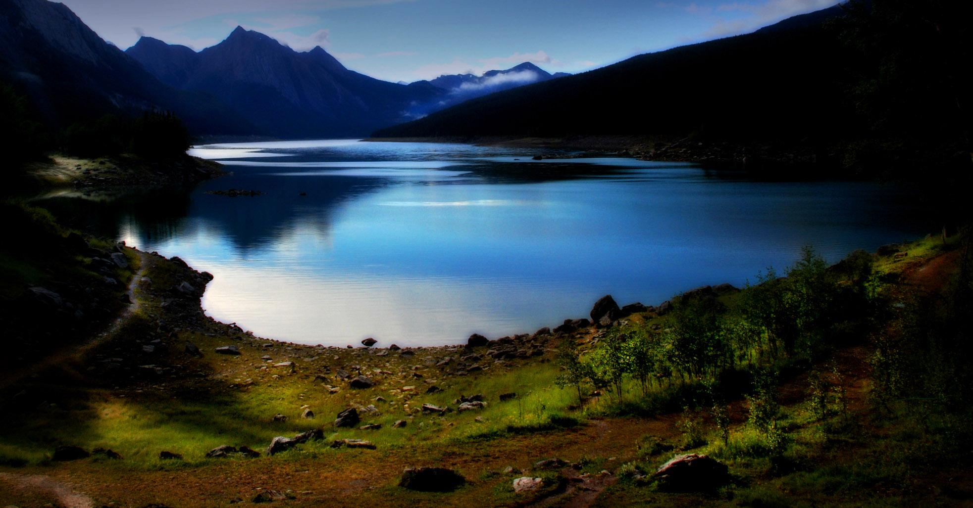 Jasper National Park, Medicine Lake