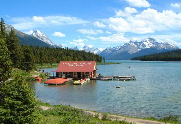 Jasper Nationalpark Kanada