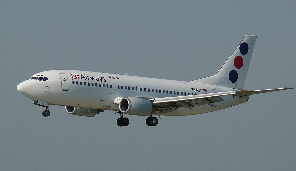 Jat Airways, B737-3H9, Reg.YU-ANV