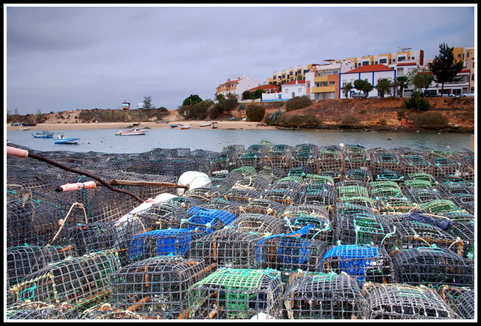 Jaulas de pesca
