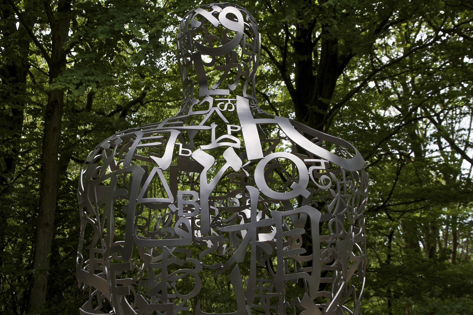 Jaume Plensa, Detail