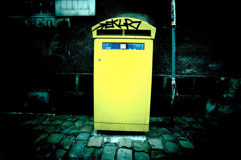 jaune boite