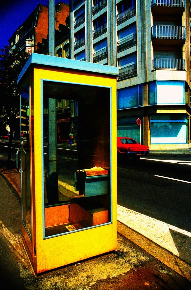 jaune cabine