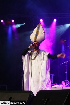 """Java live @ """"Allons plus loin - Weiter so!"""" der HipHop Papst =)"""