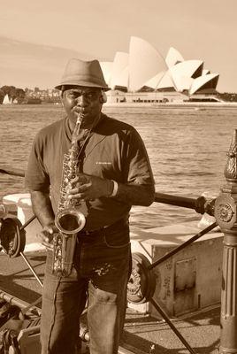 jazz a l'OPERA DE SYDNEY