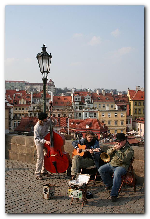 Jazz auf der Brücke