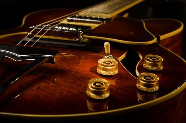 Jazz Guitar Knob