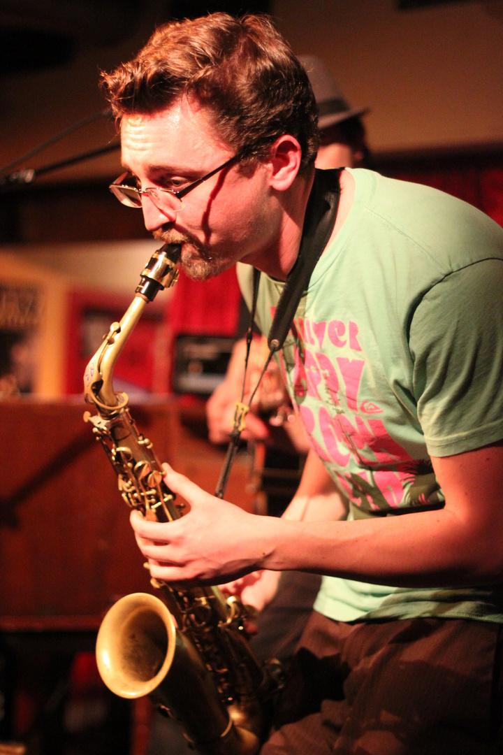 Jazz Stuttgart Kiste - Stefan Koschitzki Saxofon