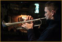 Jazz Trompeter Jazzclub Kapstadt +3Musikfotos Kapstadt