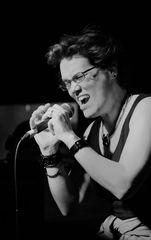 Jazz vocal Karin vom Hoff Stgt +JAZZNEWS Ü213K