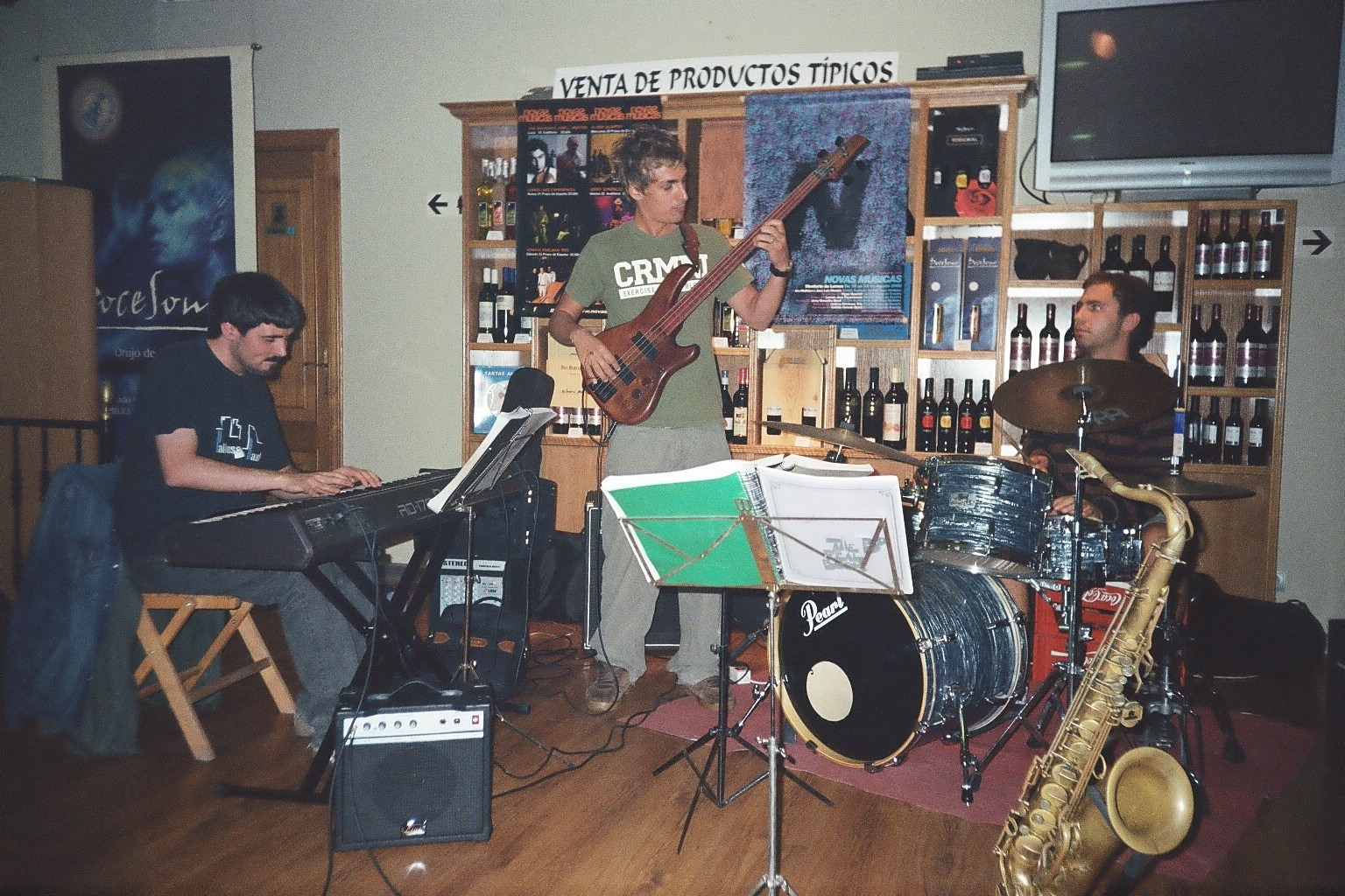 Jazz x Barrios 2008 con Charlie Moreno