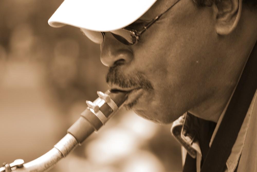 Jazzman à Central Park