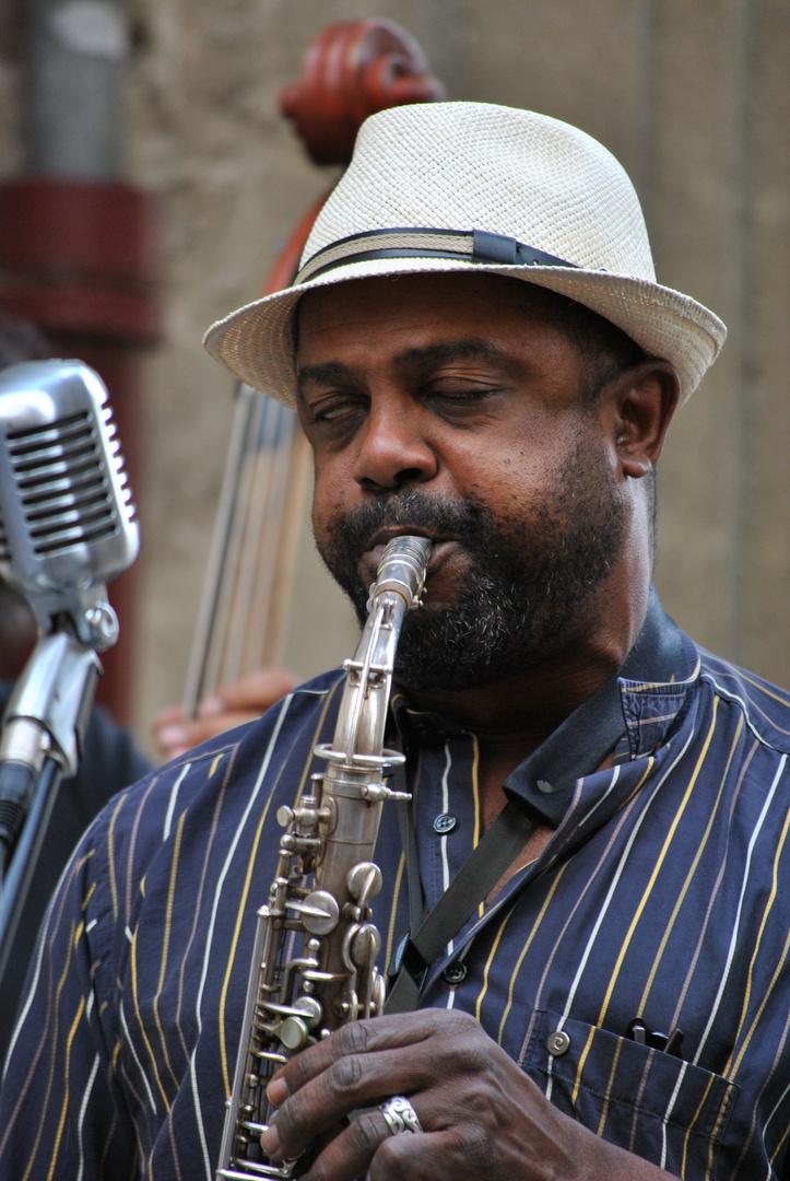 Jazzman in Uzes