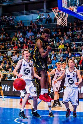 JBBL TOP4, Young Dragons Quakenbrück (U16) gegen Porsche Basketball Akademie Ludwigsburg (U16) 2/3