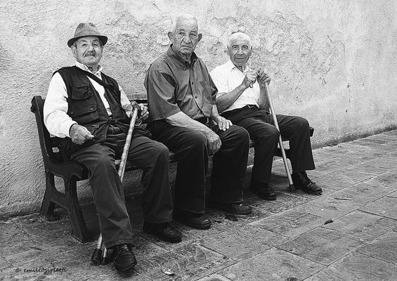 Je vous laisse en compagnie de ces trois amis.