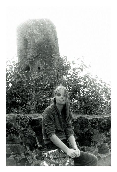 Jeanette auf Burg Stolpe