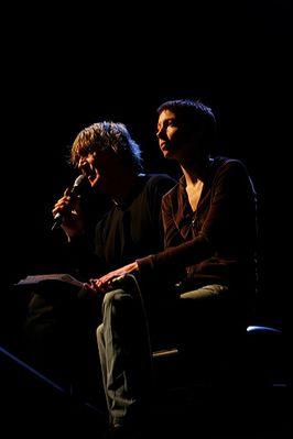 Jeanne Cherhal et Jacques Higelin
