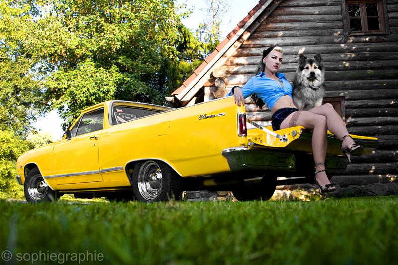 Jeanny und der Chevrolet El Camino