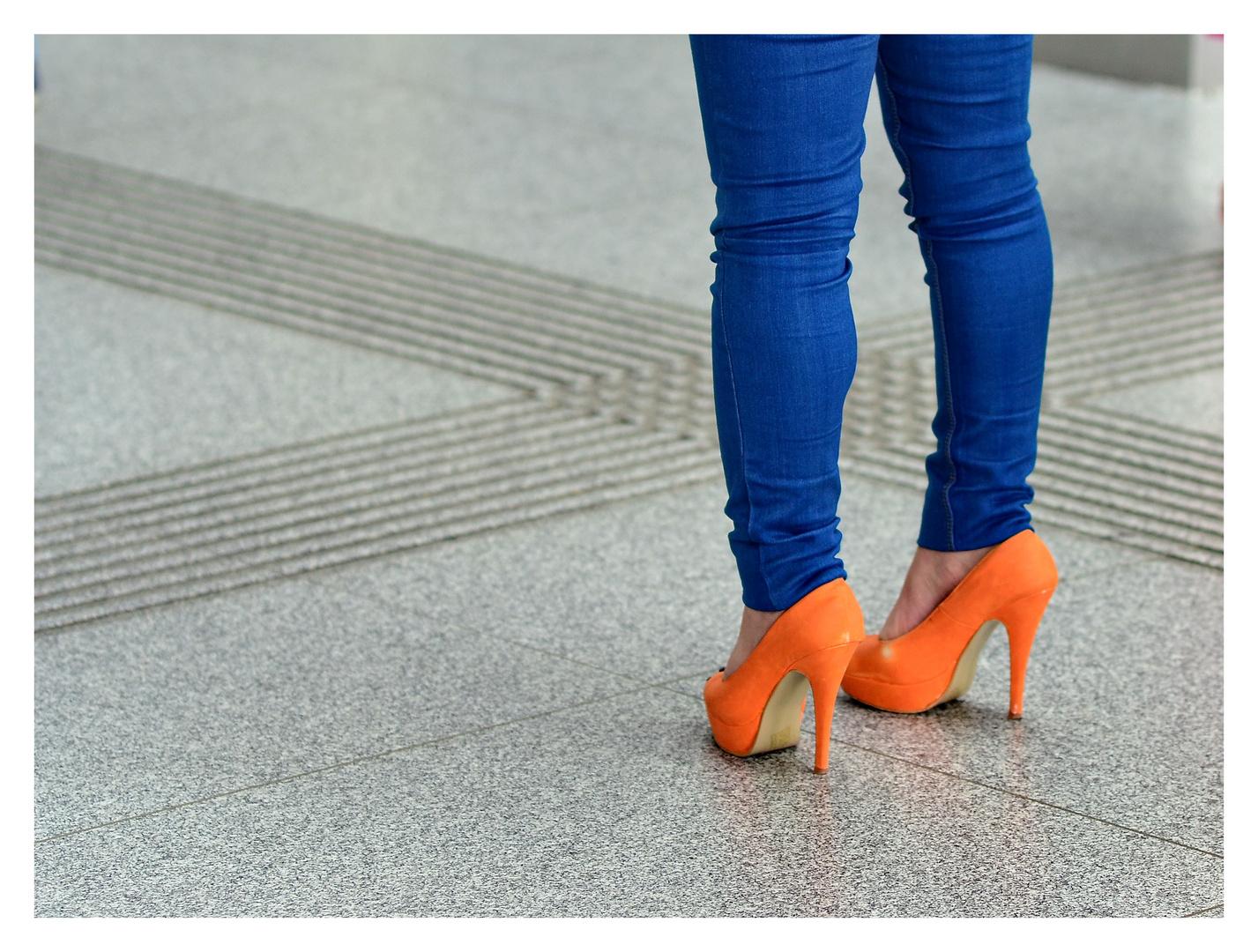 ...Jeans + High Heels...