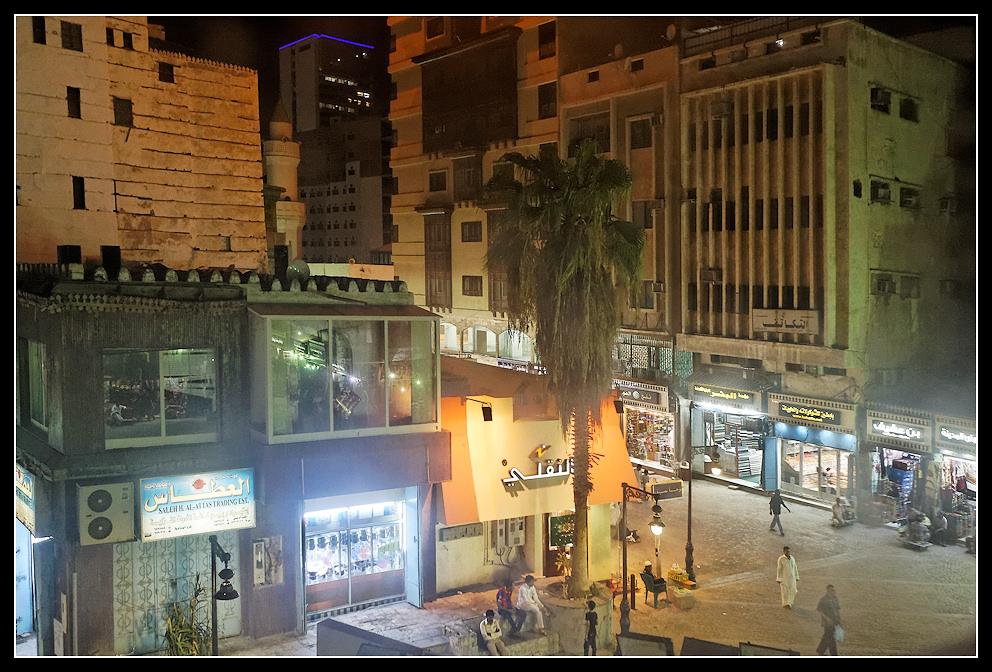 Jeddah :: Mit Palme