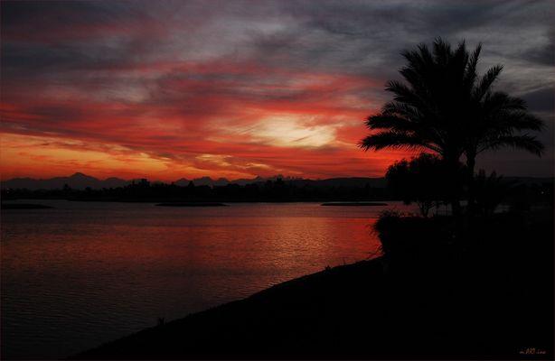 Jeden Abend ein traumhafter Himmel