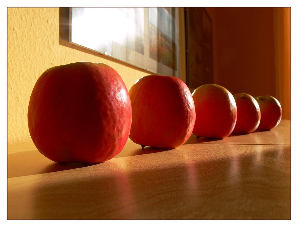 Jeden Tag ein Äpfelchen