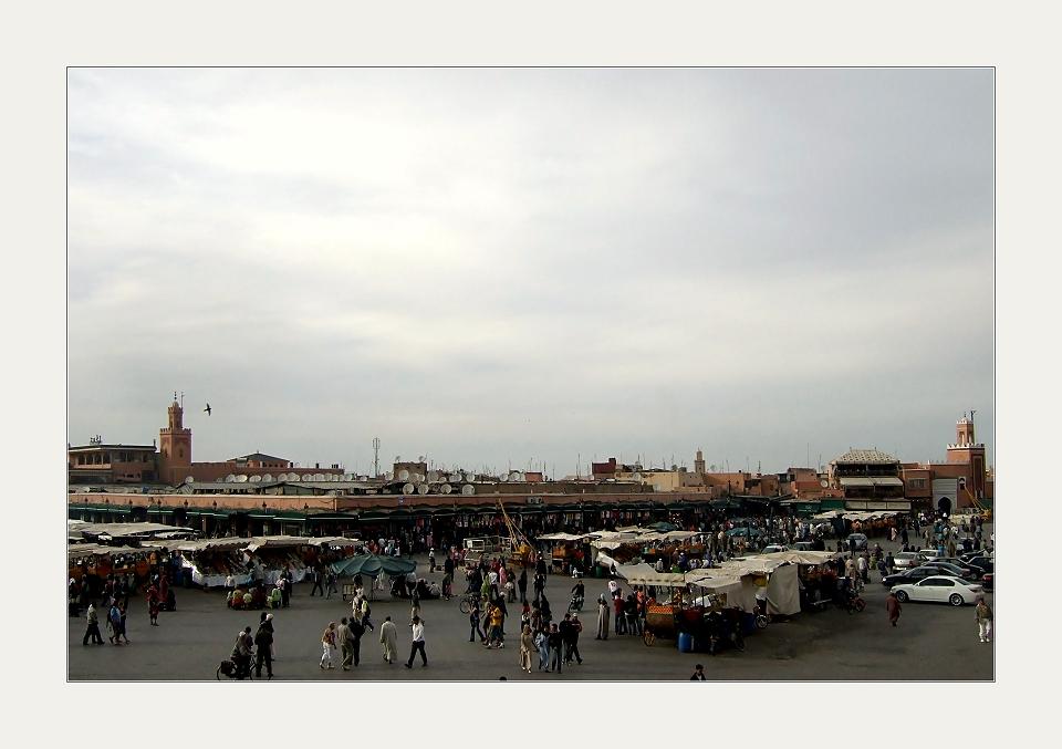 Jeder Besucher Marrakeschs...