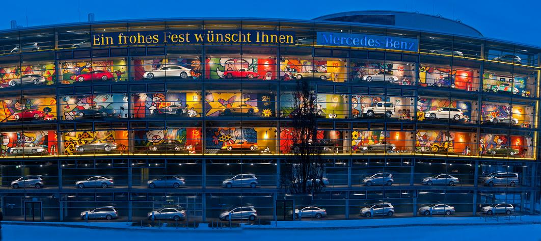 Jedes Jahr eine neue Idee - Mercedes Benz in München