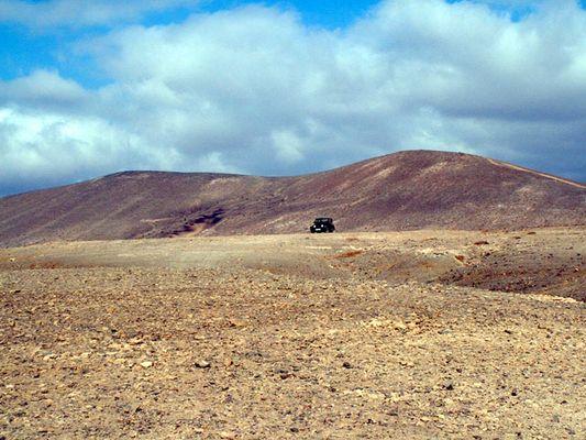 Jeep auf Fuerteventura