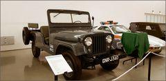 Jeep de la police fasciste