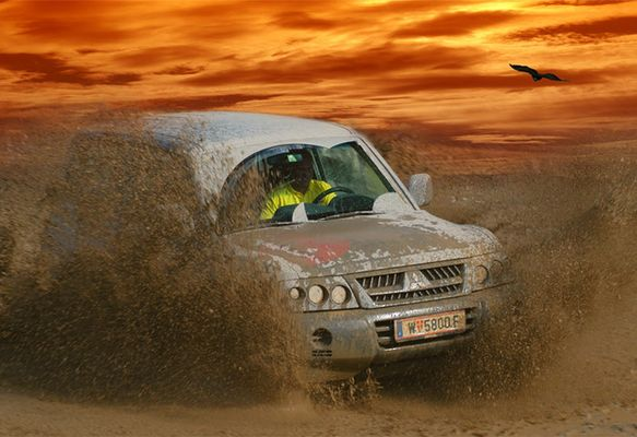 Jeep in Action