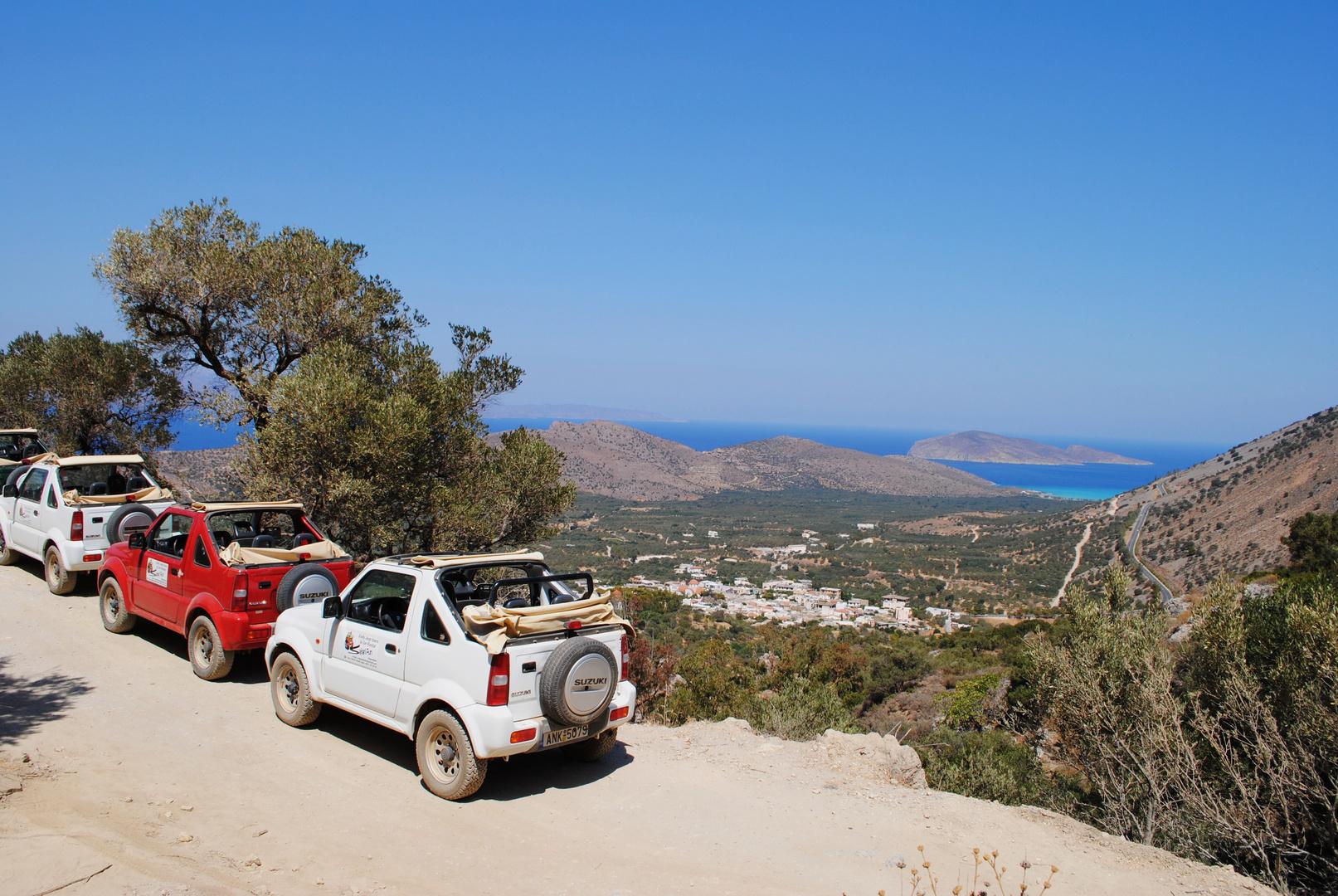 Jeep-Safari auf Kreta