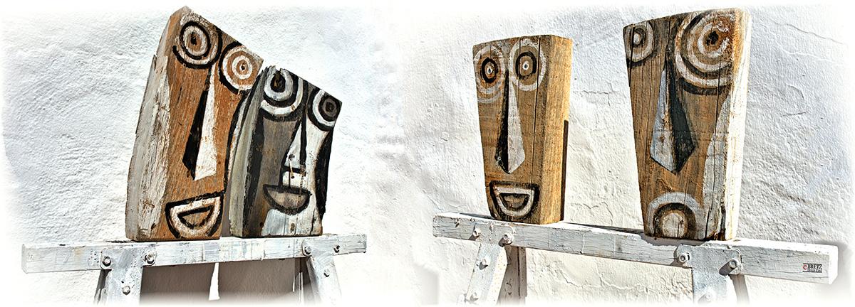 Jefes de madera