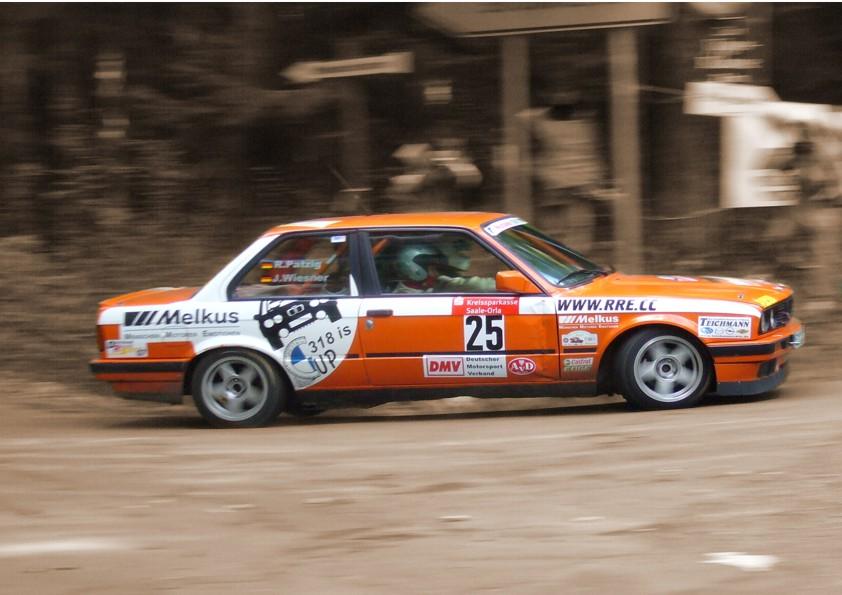 Jeffrey´s alter Thüringen Rallye 2007