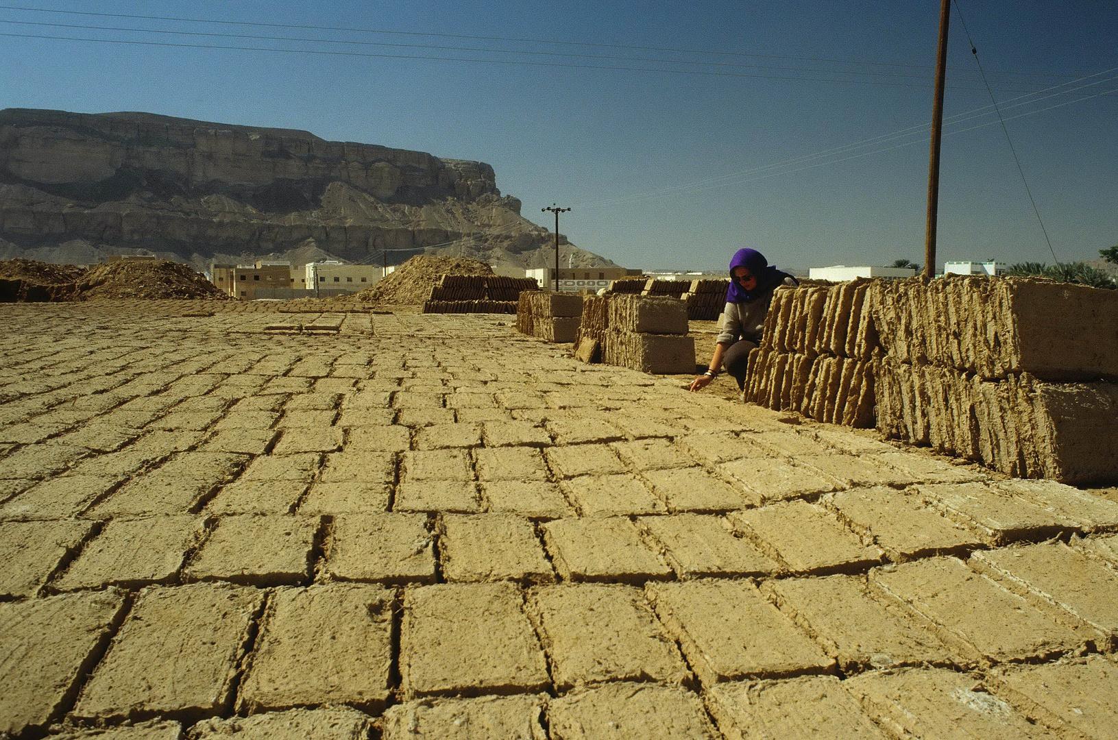 Jemen - Lehmziegel