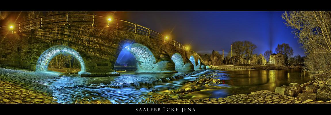 Jena bei Nacht VIII