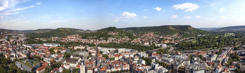 Jena Panorama 2015 von oben