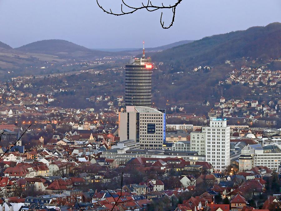 Jena Sicht vom Bismarkturm 2008 02