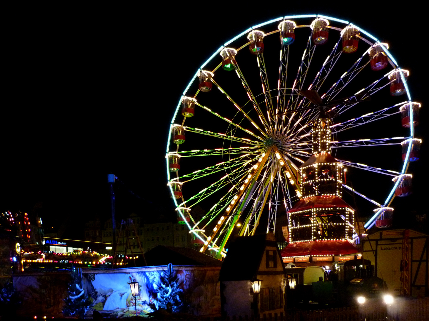 Jena Weihnachtsmarkt 2012