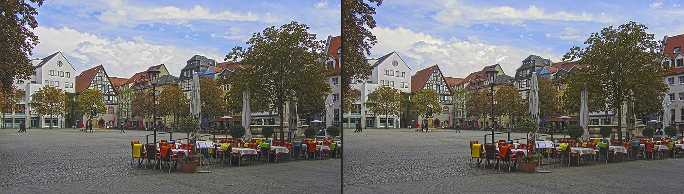 Jenaer Marktplatz (3D)