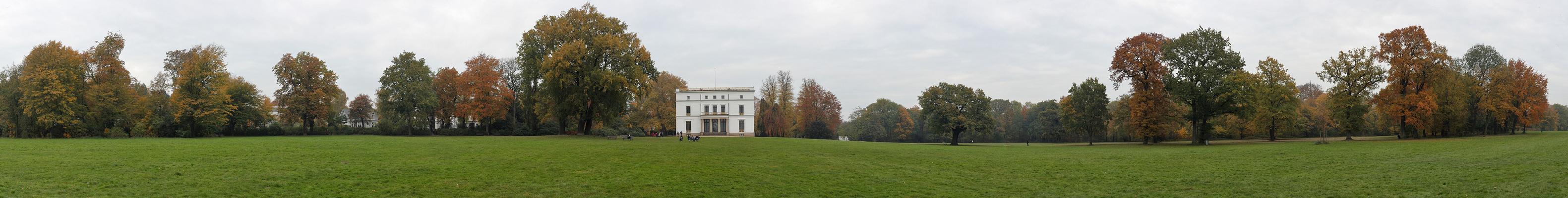 Jenisch Park im Herbst