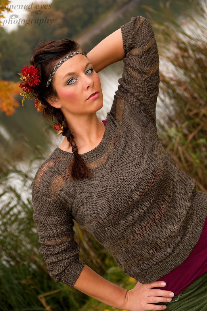 Jenny im Herbst 02