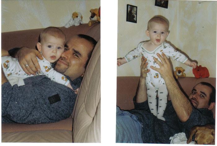 Jenny Maus mit Papa