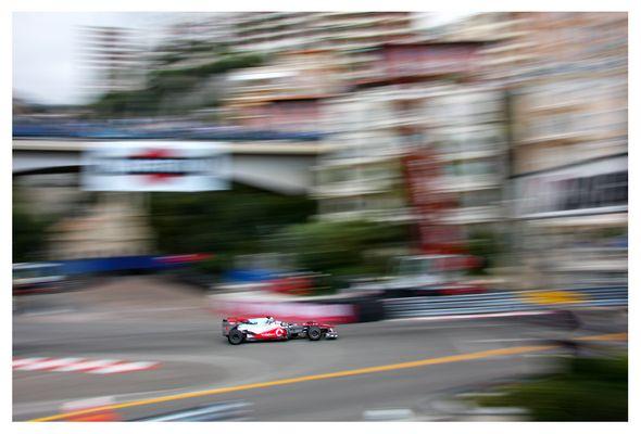 Jenson Button, Monaco 2010